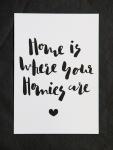 """Postkarte  """"Homies"""""""
